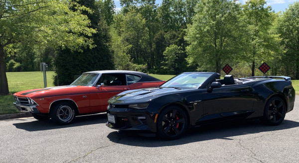 Callaway Camaro and our Chevelle